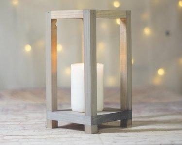 etsy wood tabletop lantern