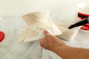 DIY Plaster Decorative Bowl