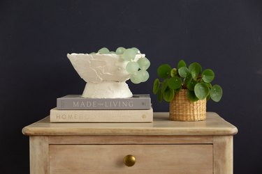 DIY Plaster Decorative Bowl project