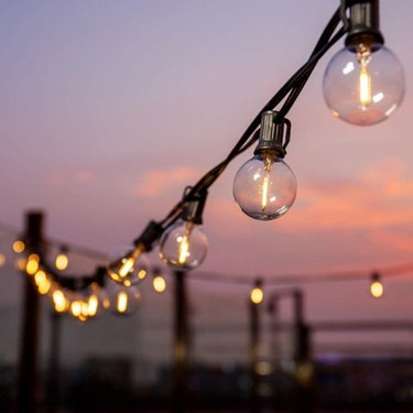 outdoor string lights with round bulbs