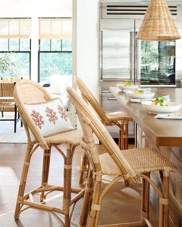 serena & lily boho furniture bar stools
