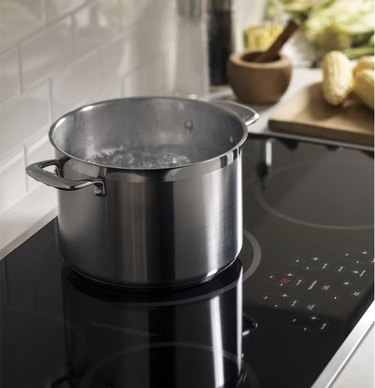 Black Stainless Steel Induction Electric Cooktop