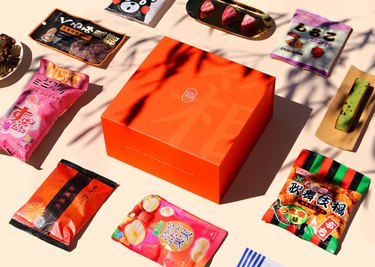 Pre-curated Box of Japanese Snacks