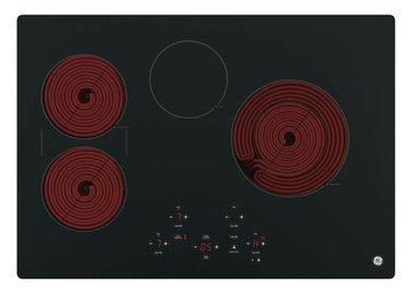 Black Radiant Electric Cooktop
