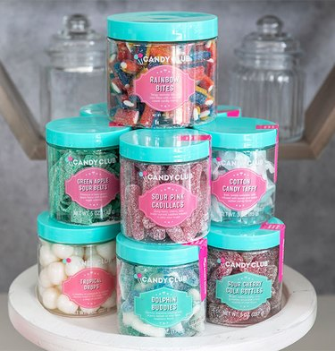 Jars of Assorted Candy