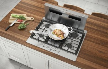 Gas Cooktop in Stainless Steel with 5 burners