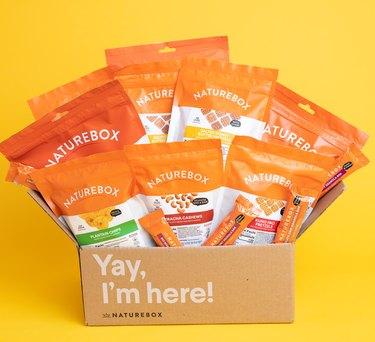 Box of Healthy Snacks