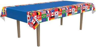 International flag tablecloth