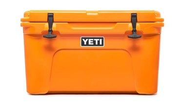 orange yeti cooler