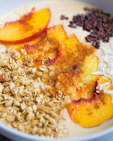 Butter Be Ready Peach Pie Smoothie Bowl
