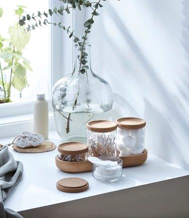 Saxborga Jar With Lid and Tray
