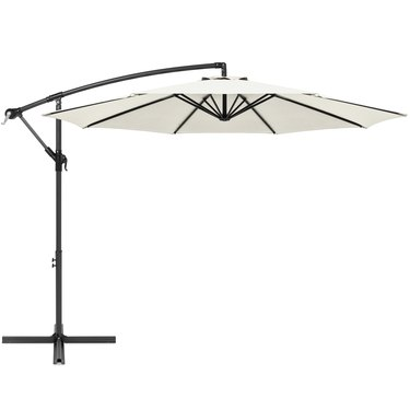 Best Choice Products 10ft Offset Hanging Outdoor Market Patio Umbrella