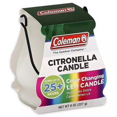 bed bath & beyond coleman citronella candle