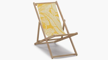 yellow cabana chair