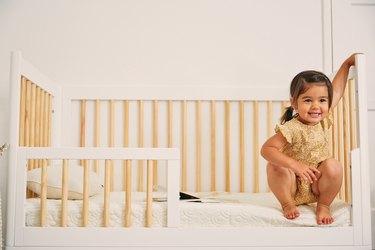 Brentwood Home EcoAir Waterproof Baby Crib Mattress