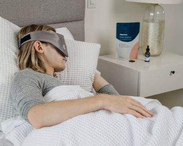 weighted sleep eye mask