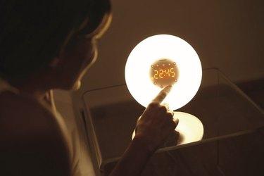 walmart wakeup light lamp