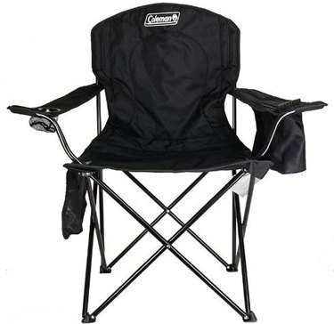 Coleman Adult Camping Chair with Built-In 4-Can Cooler
