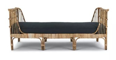 navy cushioned daybed