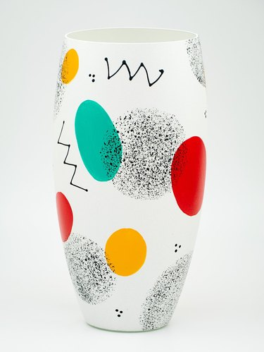 neo memphis style vase