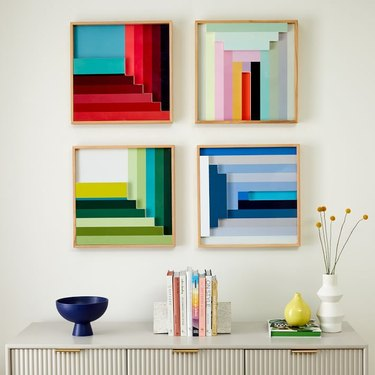 colorful 3d abstract artwork