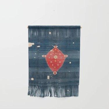 rug print wall hanging