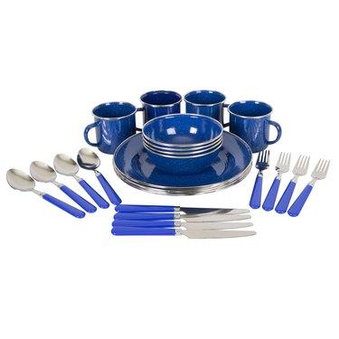 Stansport Enamel Camping Tableware Set