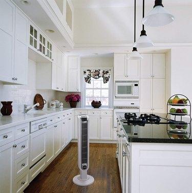 Fan in kitchen