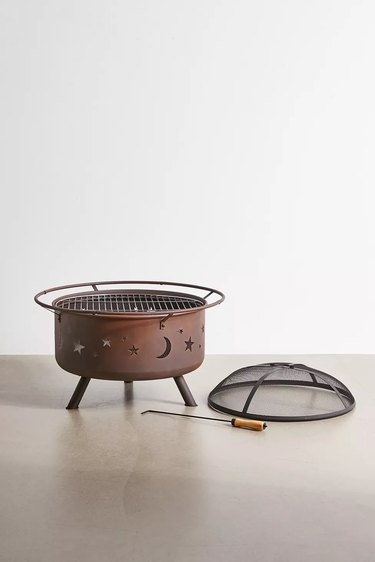 Urban Outfitters Sunnydaze Decor Cosmic Fire Pit