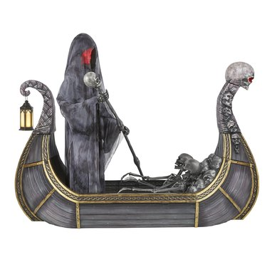 8-foot Giant-Sized Animated LED Ferry of the Dead