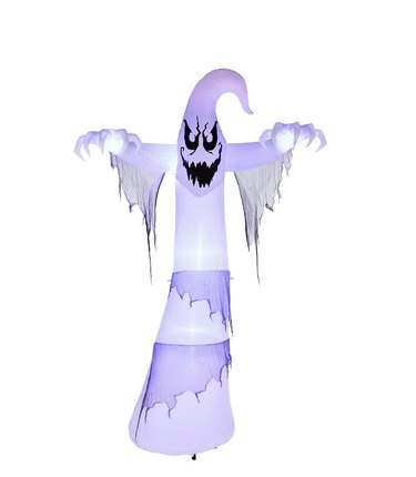 12-foot Lightshow ShortCircuit-Ghoul Ghost Airblown Halloween Inflatable
