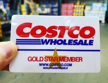 costco gold star member card