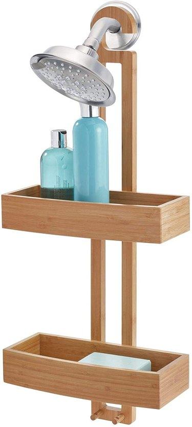 bamboo-shower-caddy