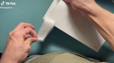 envelope hack peeling strip