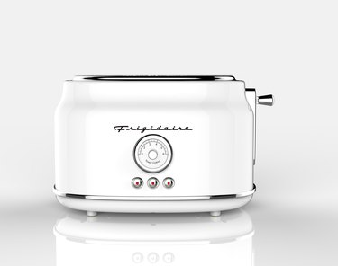 White retro toaster