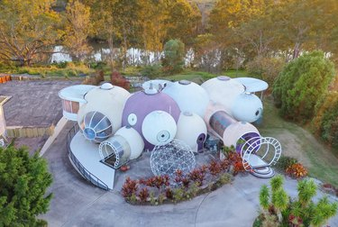 exterior photo of The Bubble House