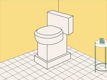 toilet illustration