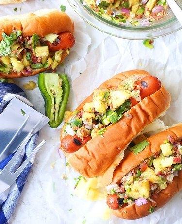 Brown Sugar Food Blogger Hawaiian Hot Dogs