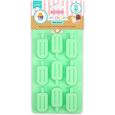 Popsicle ice cube tray