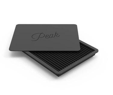 black crushed ice tray