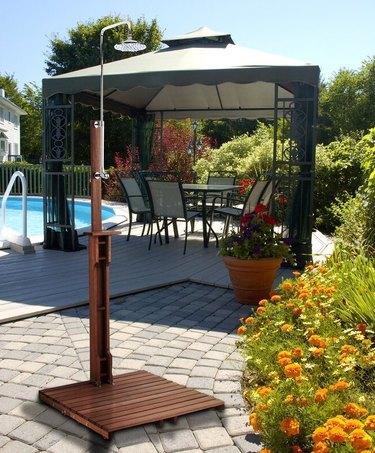 wayfair Wildon Home Noah Freestanding Outdoor Shower