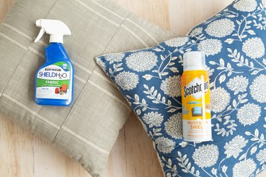 How to make indoor pillows outdoor safe