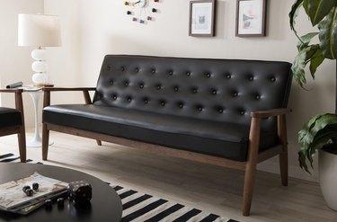Overstock midcentury modern sofa