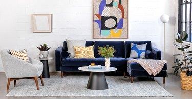 article midcentury modern sofa