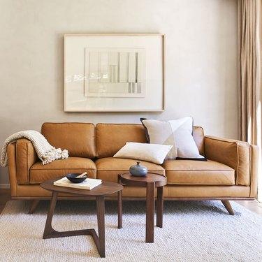 west elm midcentury modern sofa