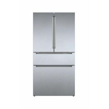 Bosch 800 Series 21 Cubic Feet Smart Energy Star Counter Depth French Door Refrigerator with FlexBar