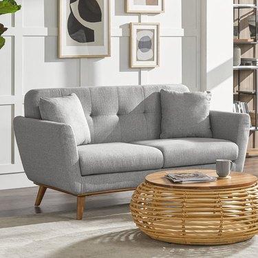 castlery midcentury modern sofa