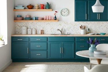 jade green kitchen cabinets
