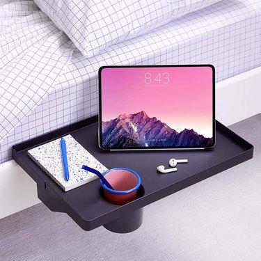 BedShelfie Essential Bedside Shelf with Cupholder