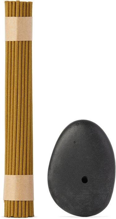 BINU BINU Stone Incense Burner Set, $55.00